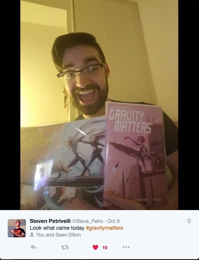 Steve P. sure likes his comics!