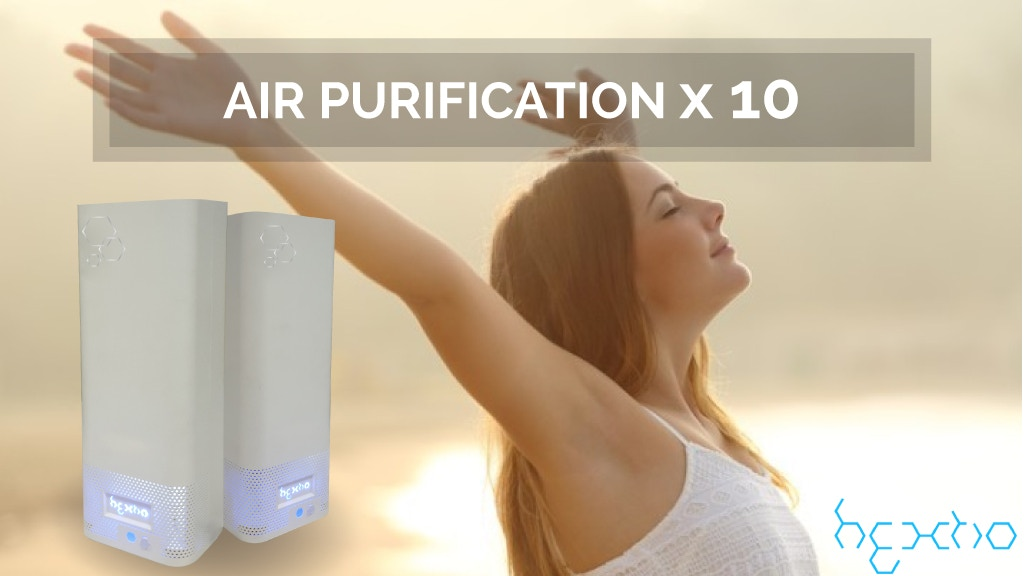 hextio | Air Purification X 10 project video thumbnail