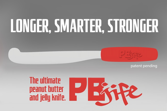 The PBJife! - The Ultimate Peanut Butter and Jelly Knife ...