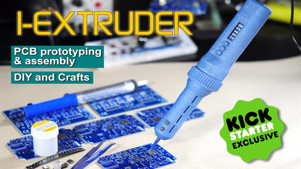 I-EXTRUDER smart Solder Paste and Fluids dispenser for PCBs Project-Video-Thumbnail