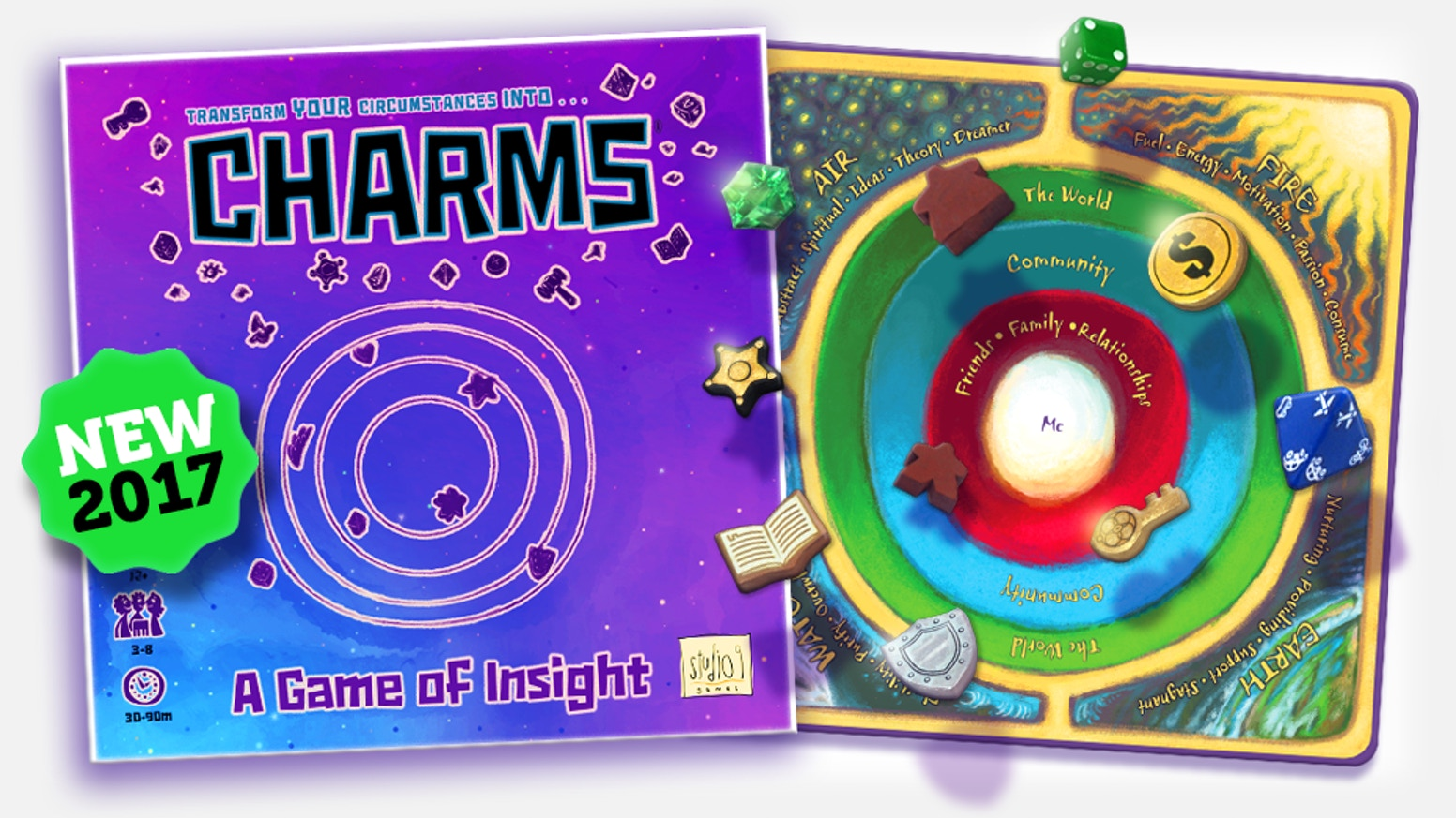 Champion your year (and more) with amazing insights waiting to be discovered in this fun party game for a charmed life!