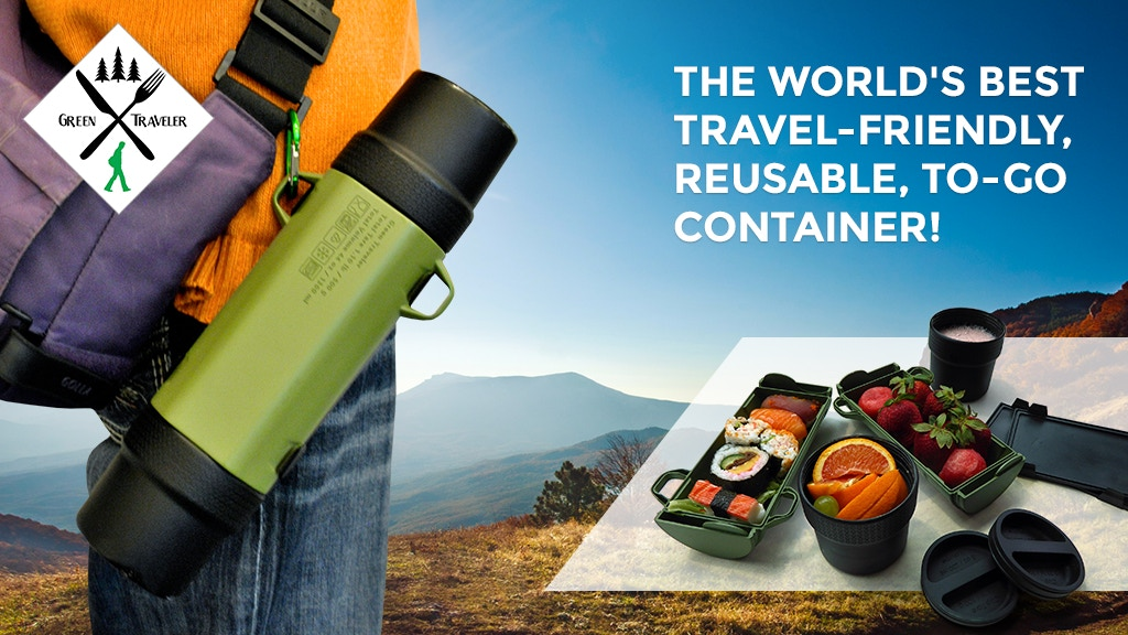 GreenTraveler: World's Best Travel-Friendly Food Container project video thumbnail