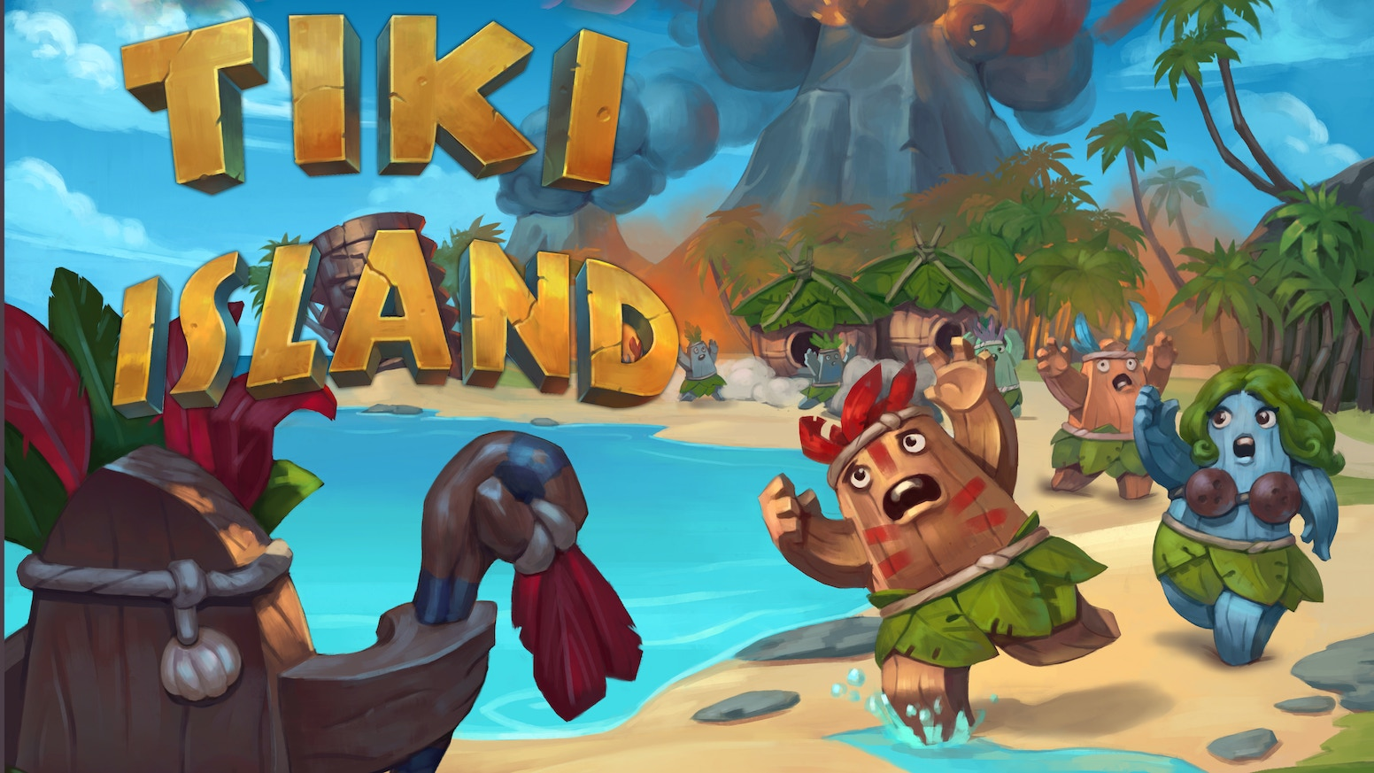 Tiki island is a family oriented race from destruction! Fun yet simple game play lets hardcore fans and kids enjoy the game together!