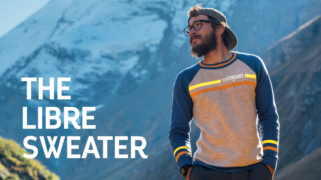 The Libre Sweater: Insulator. Outer layer. Epic enabler. project video thumbnail