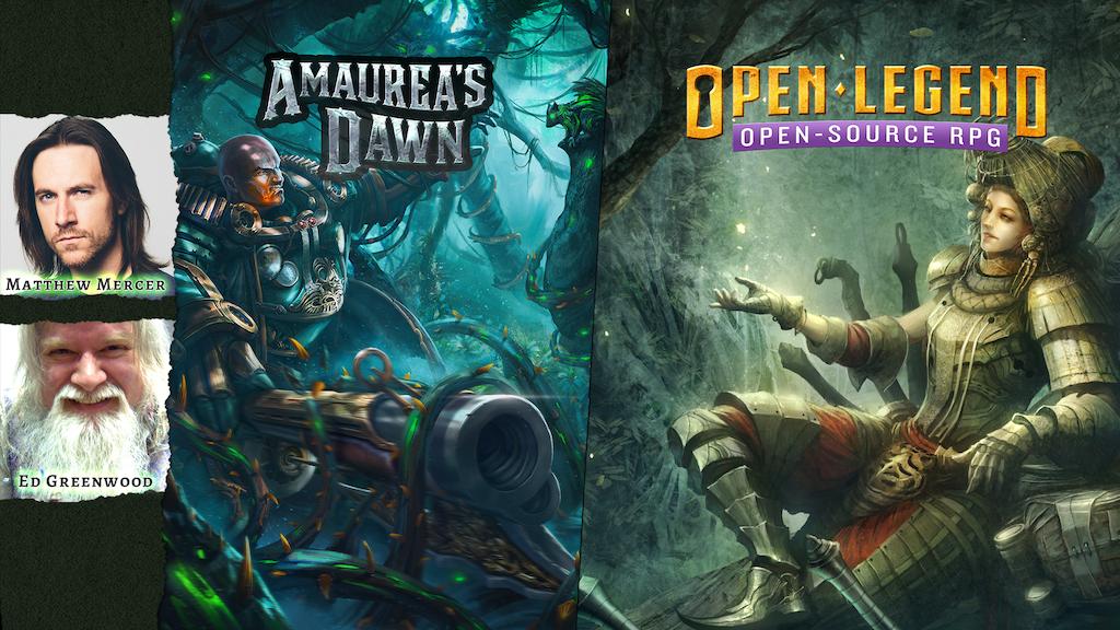 Open Legend: Open-source RPG & Amaurea's Dawn Setting project video thumbnail