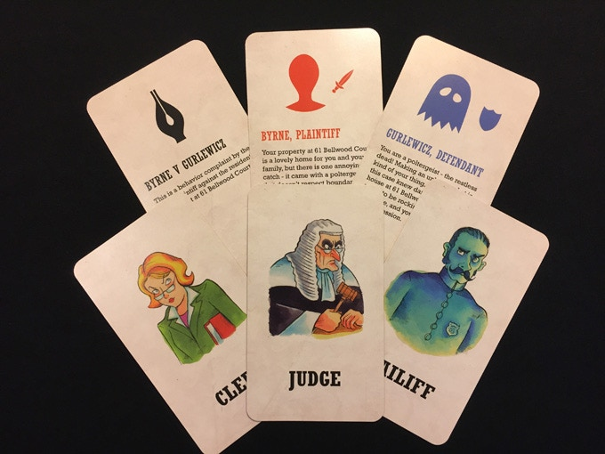 A sampling of cards from the prototype deck
