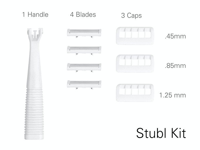 Stubl: The First Blade for the Perfect Stubble Shave. by