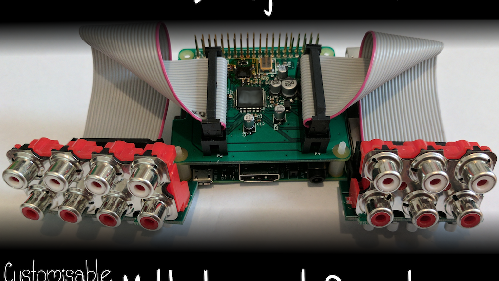Audio Injector Octo multichannel sound for the Raspberry Pi project video thumbnail