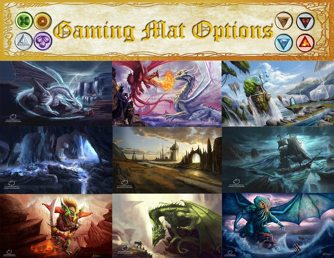 Other choices for gaming mats non exclusive