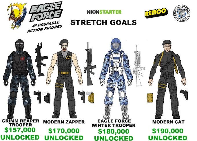 Eagle Force Returns Action Figures by Bill Murphy — Kickstarter