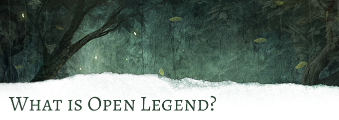 Open Legend: Open-source RPG & Amaurea's Dawn Setting by