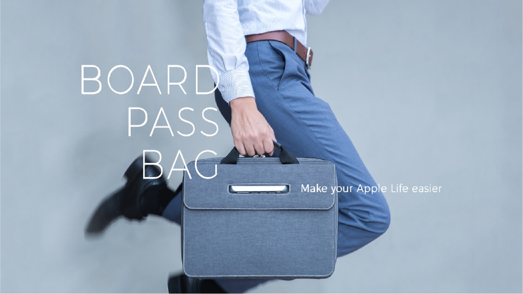 BoardPass Bag: Tangle-Free solution for Apple accessories project video thumbnail