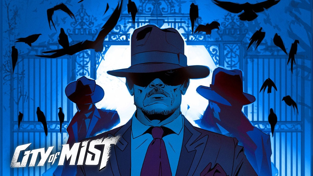 City of Mist, a noir RPG of modern-day legends project video thumbnail