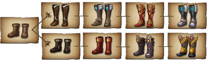 Boots sets