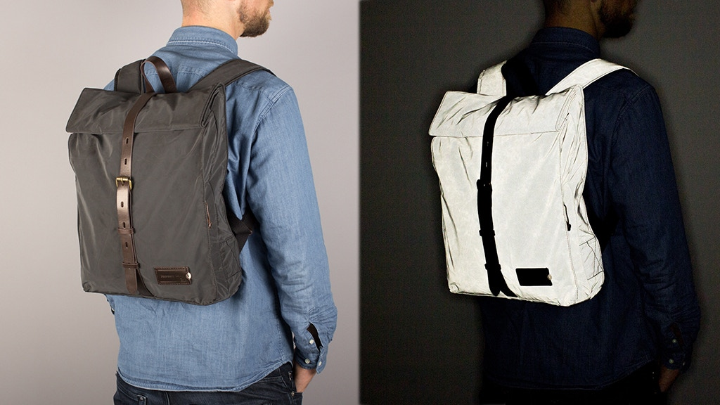 REFLECTIVE BACKPACKS - combining safety & style project video thumbnail