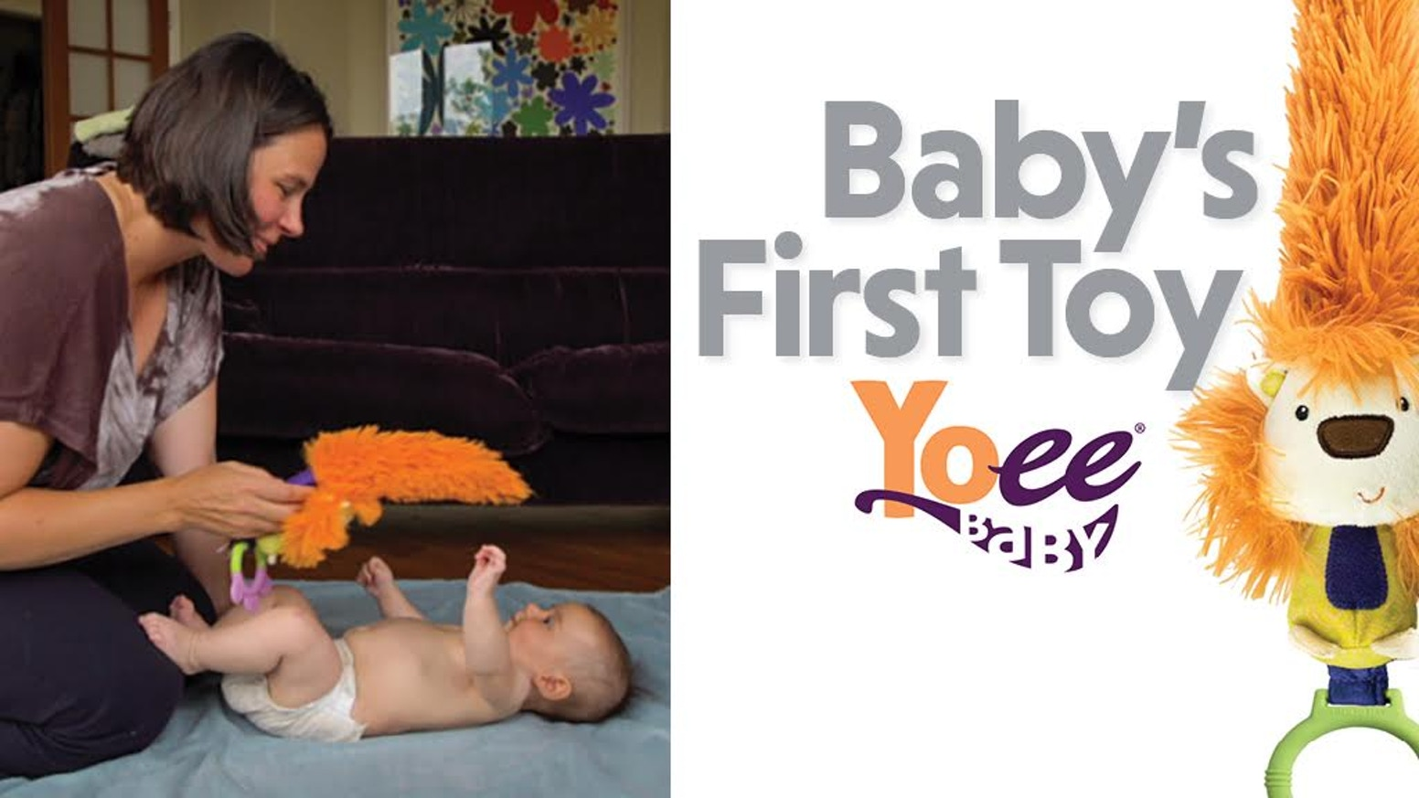 Yoee Baby is a developmental toy that takes its cues from science and helps parents play, connect and bond with their babies.