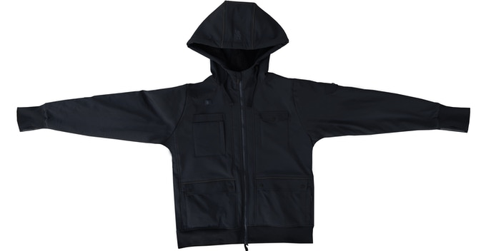 All-Weather Black Jacket (with black accents and sherpa lining)