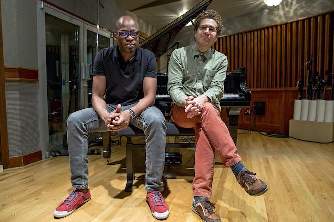 Lionel Loueke and Kevin Hays ©Jordan Kleinman