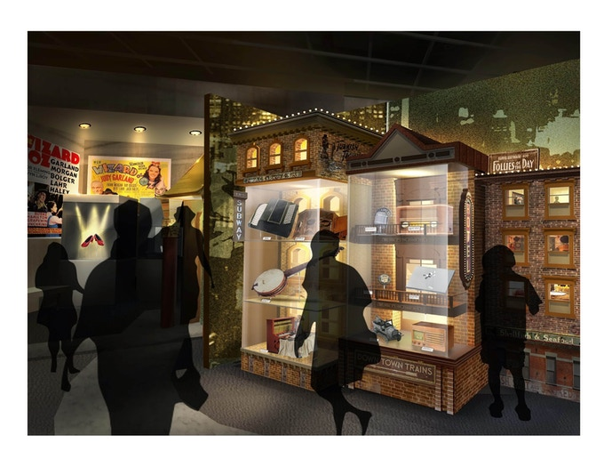 Rendering of Ruby Slippers displayed in new exhibition* Note-all renderings are subject to change