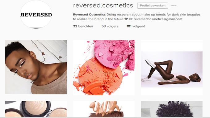 Instagram Reversed Cosmetics