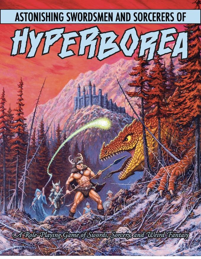 Astonishing Swordsmen & Sorcerers of Hyperborea 2E by