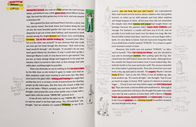 Designed so you can highlight, annotate, and draw about what you've discovered...