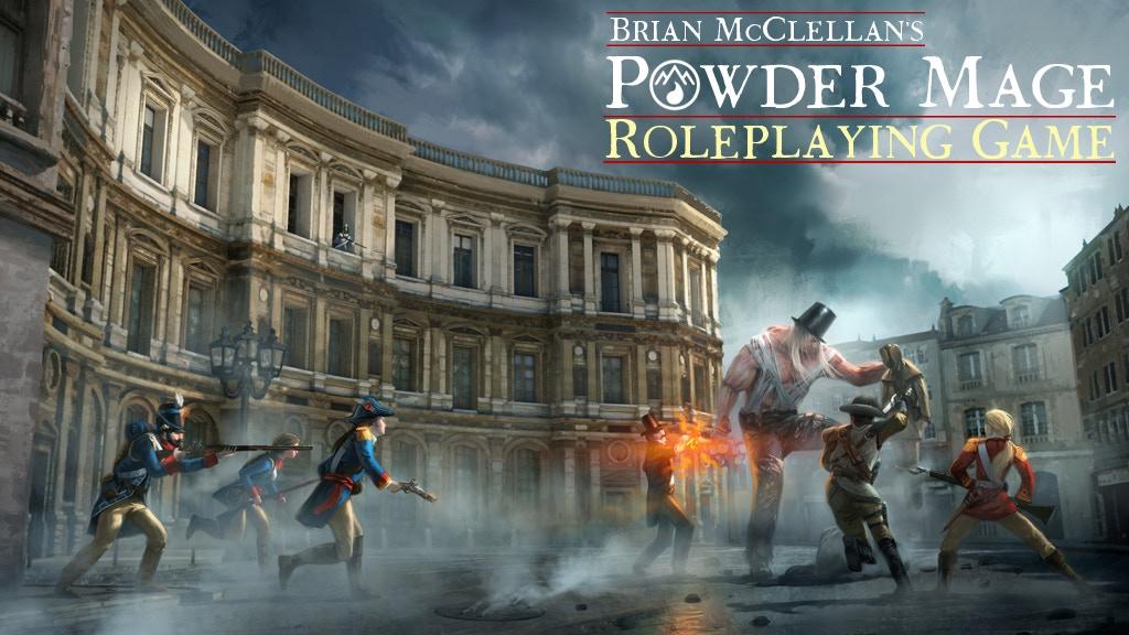 Flintlock Fantasy roleplaying in Brian McClellan's Powder Mage Universe! Using Savage Worlds.