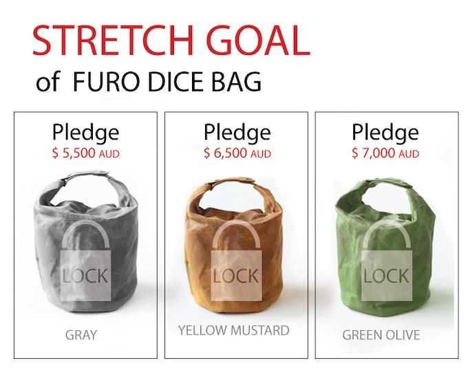 ninja dice reward Furo bag goal