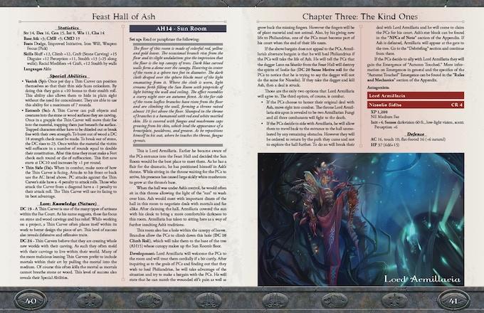 Sample Pages (Copyright Mór Games 2015)