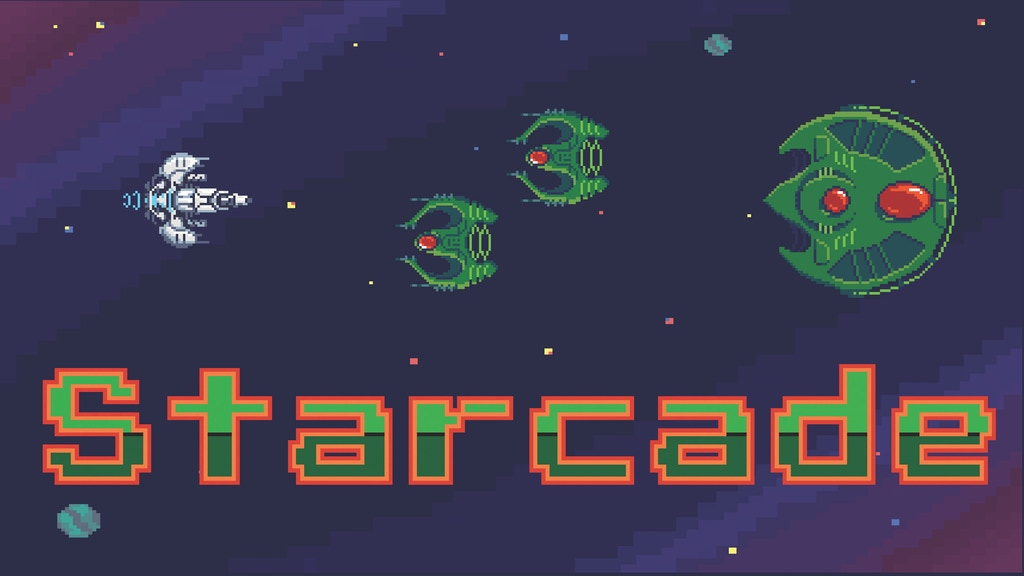 Starcade: An Arcade Style Micro Game for 1-3 Players project video thumbnail