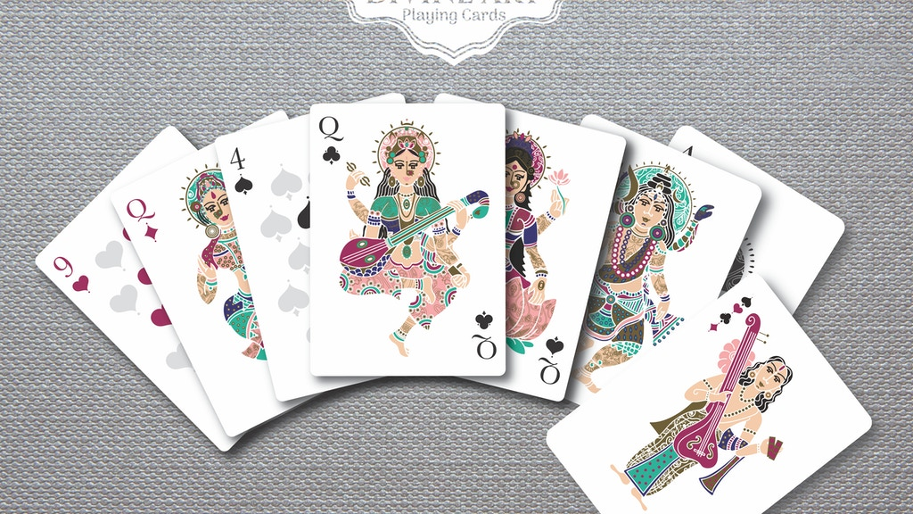 Project image for Divine Art Playing Cards - Inspired from Hindu Mythology
