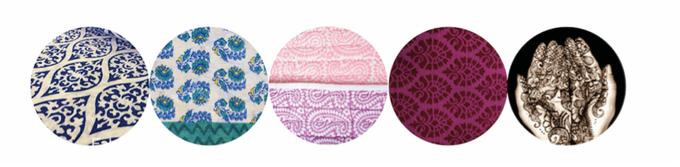 Block Print & Mehndi (Henna) design