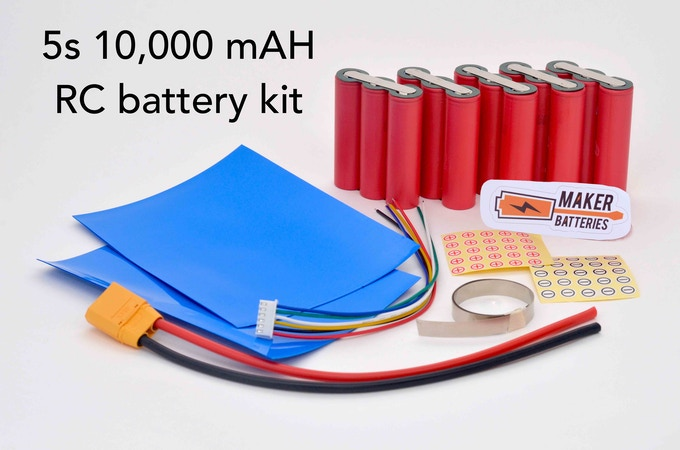Example of a 5S Maker Battery Kit