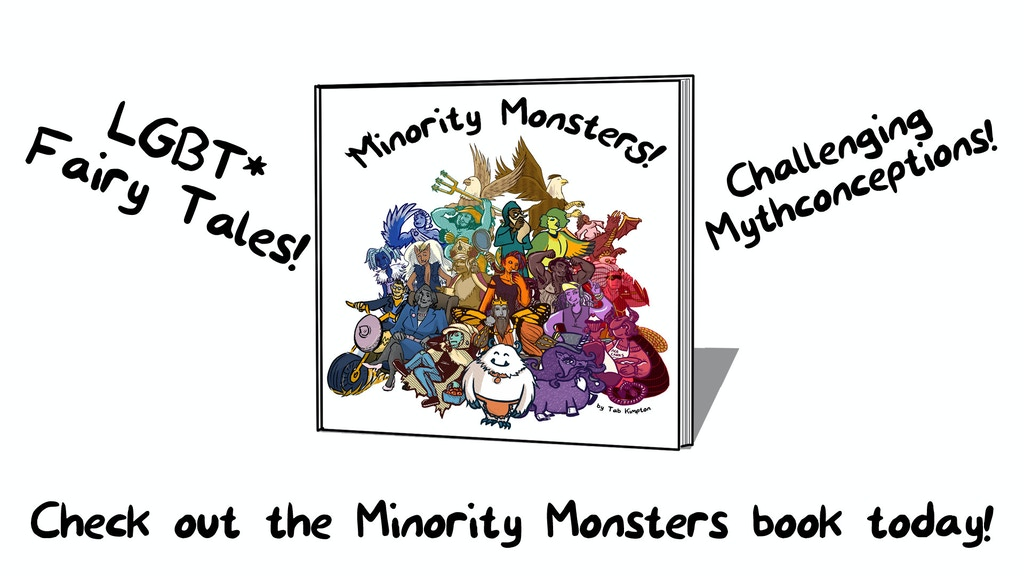 The Minority Monsters Book project video thumbnail