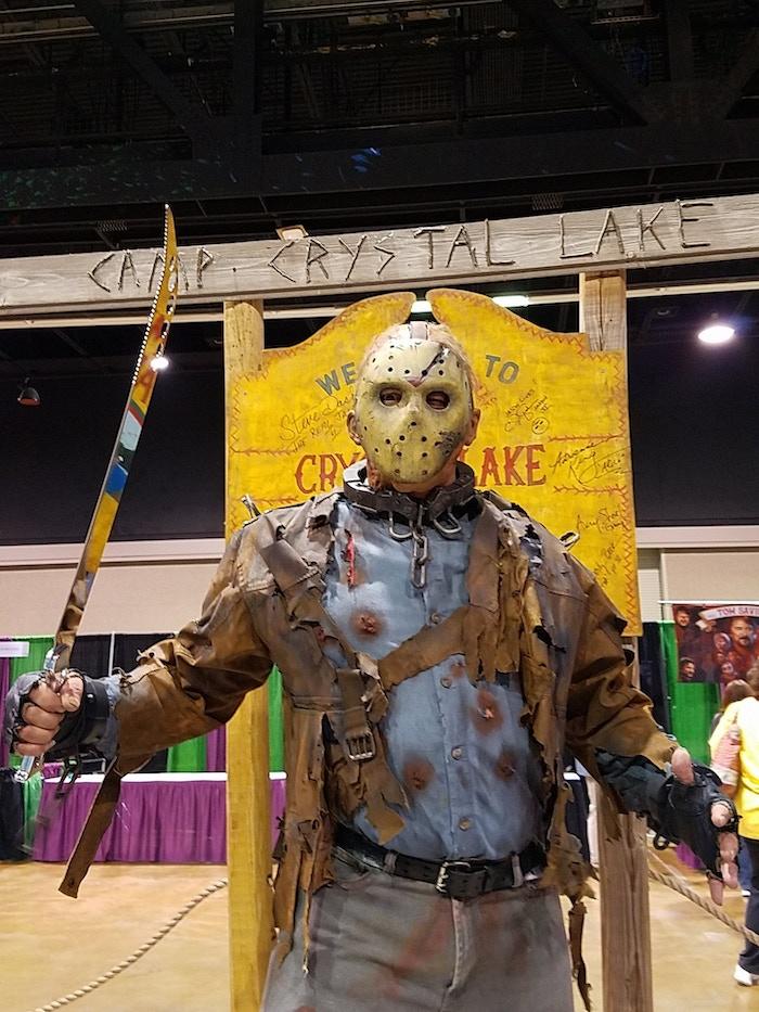 Wickedbeard takes Jason cosplay to new levels!