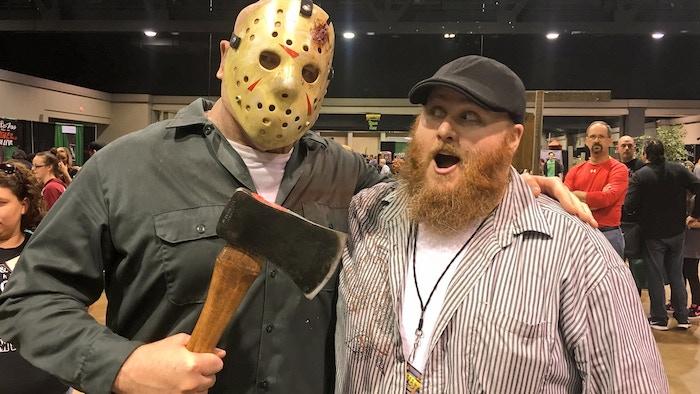 Jason threatens (an entirely too giddy) Randy menacingly!