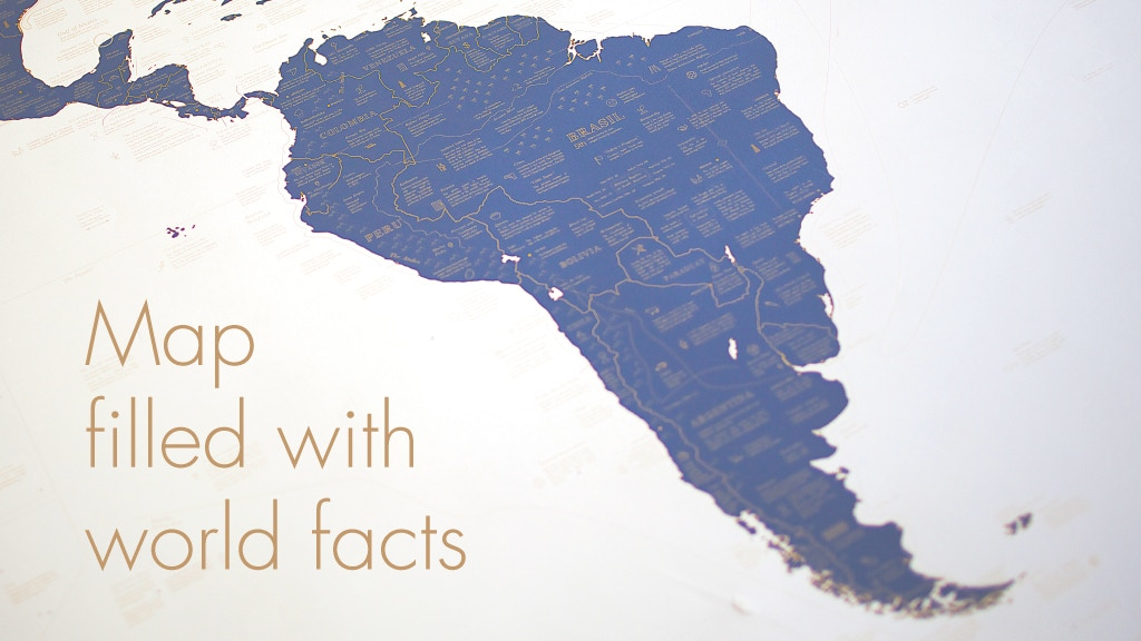 EXPLORER'S ATLAS: maps which hide over 1000 inspiring facts project video thumbnail