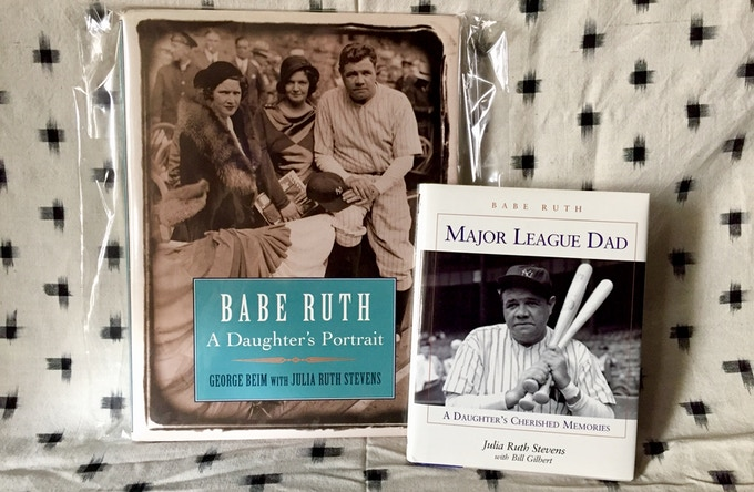 Babe Ruth books, by Julia Ruth Stevens