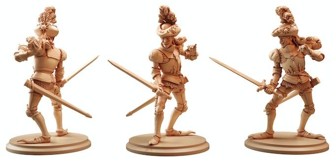 Baron Von Fancyhat sculpted by Raul Tavares