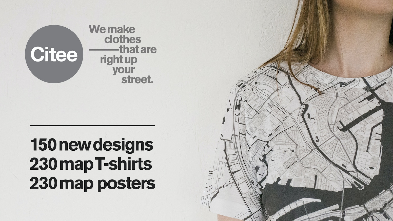 Citee Map T Shirts And Map Posters By Alex Szabo Haslam Kickstarter