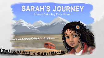 Sarah's Journey: Empowering the Dreams of Displaced Children