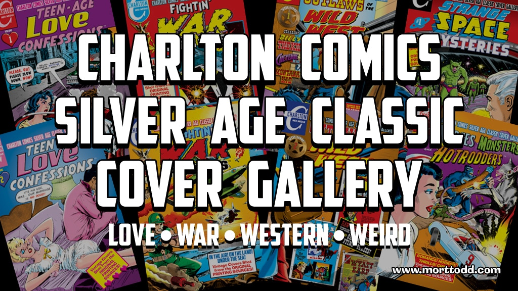Charlton Comics Silver Age Cover Gallery: 8 Volumes! project video thumbnail