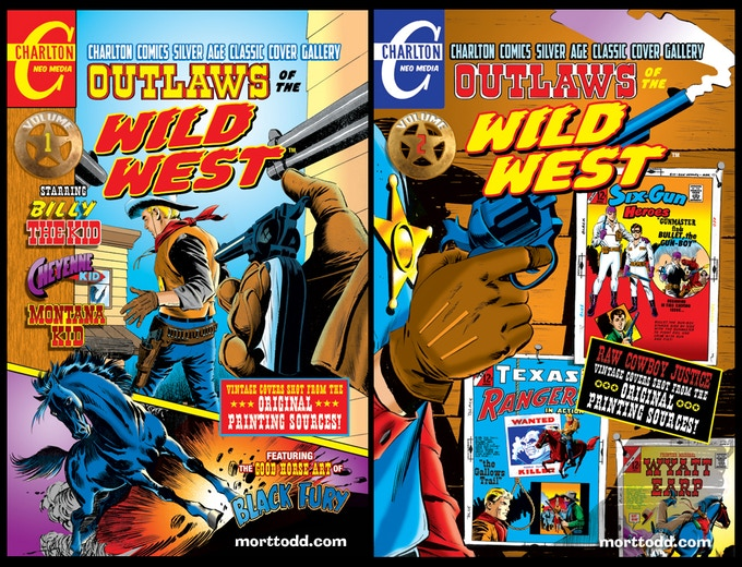 Outlaws of the Wild West Volumes 1 & 2