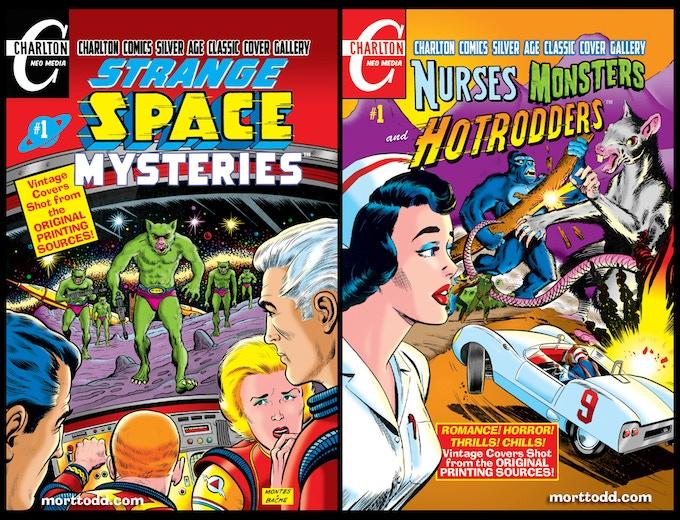 Strange Space Mysteries #1 & Nurses, Monsters and Hotrodders #1