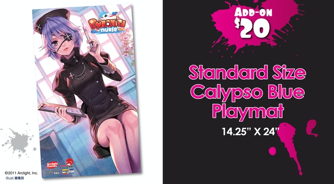 Calypso Blue Standard Playmat!