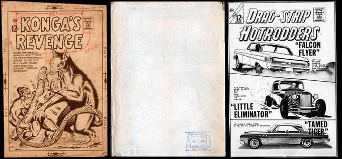 Original Charlton Comics Stats used to produce this series.