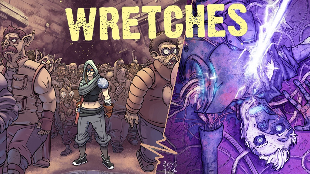Wretches: Issue 1 & 2 project video thumbnail