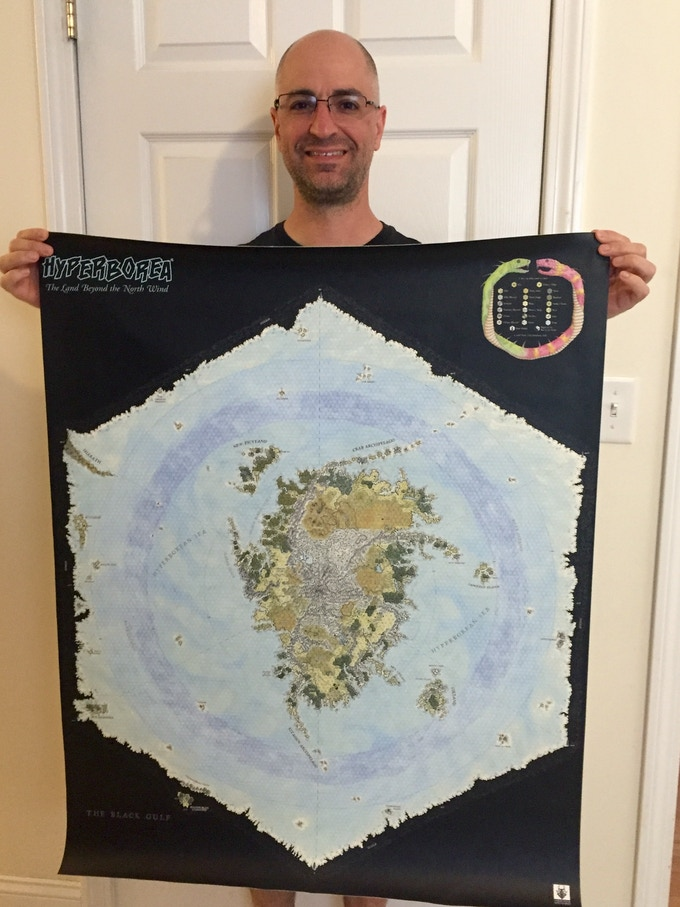Canvas HYPERBOREA map held by Jeff T.