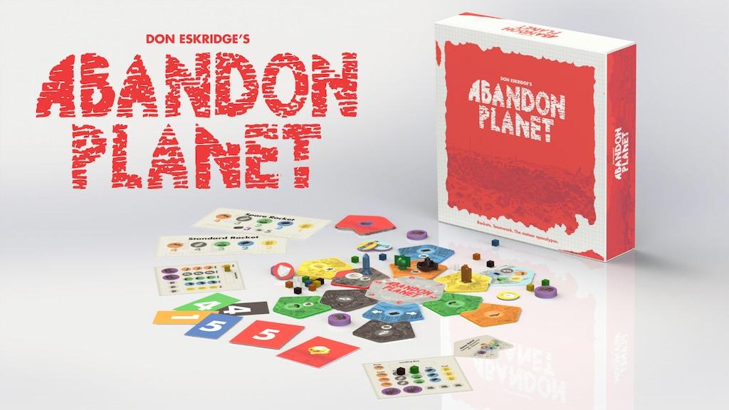 Abandon Planet project video thumbnail