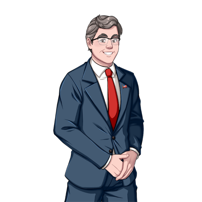 Jeb is happy to see you.